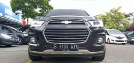 Chevrolet Captiva 2.0 LTZ Diesel 2016 Hitam Good Condition KM 36rb