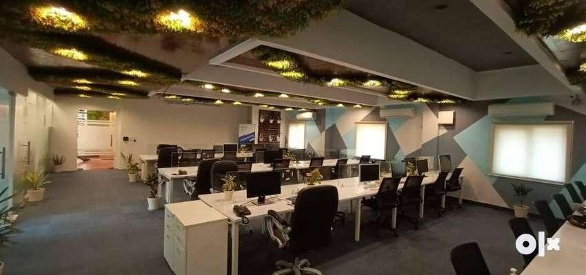 Lavish 50 Seater 2 Cabin Furnished Office For Rent At Vijay Nagar