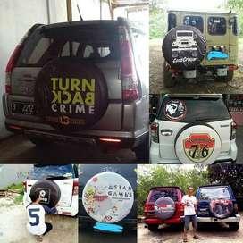 Jual Sarung Ban Pajero-Ecosport cover rush terios feroza jeep yes Bisa