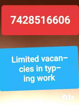VACANCY FOR BACK OFFICE IN india/ home based