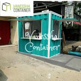 BOOTH SEMI CONTAINER / CONTAINER ANGKRINGAN / CONTAINER FRANCHISE