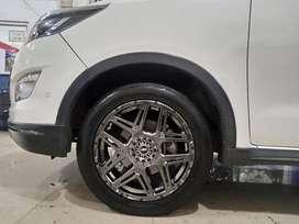 Toyota Kijang innova modifikasi Velg Konga HSR Ring 18