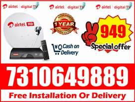 Airtel Digital Tv All India Cash On Delivery Tatasky tv