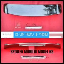 Spoiler belakang HONDA MOBILIO model RS warna hitam bagus murah meriah
