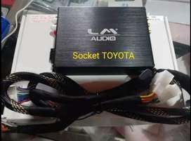 Promo Power Processor LM audio Lengkap kabel Plug N Play