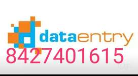 Data entry work gives a great scope to Students,