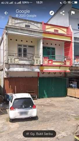 Dijual Global Ruko 2 Unit Berdampingan di Sei Jawi kota Pontianak