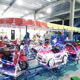 EK mainan anak odong wahana mobil remot campur