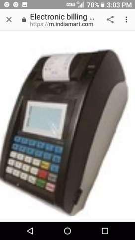 Billing machine for restorent hotel r