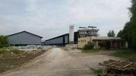 Tanah+Bangunan Pabrik Bogor