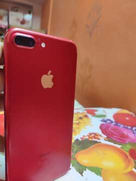 Iphone 7plus red 128gb 34000rs