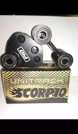 Unitrack scorpio, barang baru, bisa kirim2 kesemua wilayah.