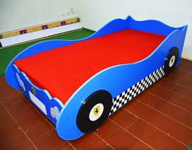 New Single Car Bed for Boys, Children Bedrooms Beds