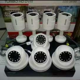 Pemasangan camera CCTV/ free instalasi kamera 2 mp full HD