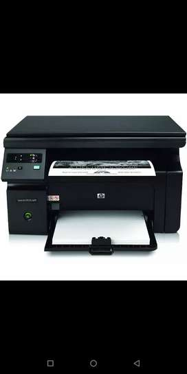 Hp 1136 second hand good. Condition printer