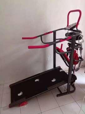 Treadmill  manual multi  fungsi T 004