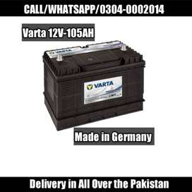 105Ah Dry Batteries Made in Germany