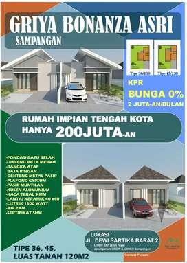 Promo rumah murah Bonanza Sampangan