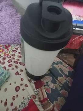 Gym sipper cum protein shaker