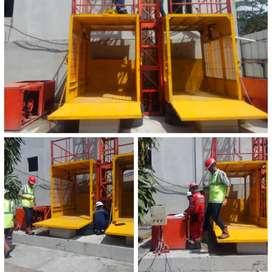 Sewa Lift Barang Gorontalo Kapasitas 1-2Ton