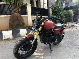 Dijual motor custom scorpio 225cc / 2011