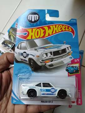 Hotwheels mazda rx 3 new