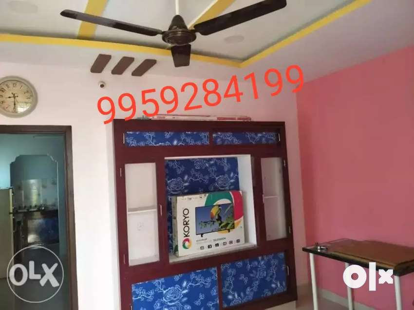 One BHK with full furniture for working  at UPPAL