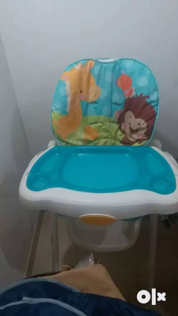 Fisher price planet high chair excellent condition 0