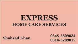 Express, Male Female Cook, Trained Helper, House Maid, patient Care,,