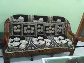 Good quality Wooden 3 seater sofa