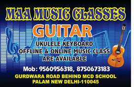 Guitar and keyboard lessons