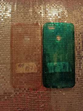 Oppo F9 Painted Glitter Silicone Cover