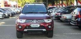 Pajero sport Diesel AT 2014 Km 48Ribu Record bengkel resmi Mitsubishi