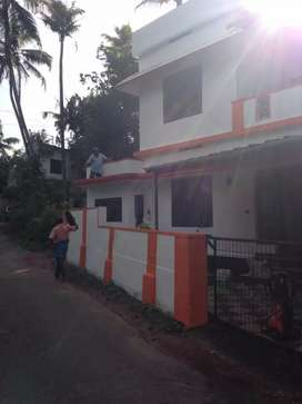 Aluwa Rajagiri Hospital near 1350sqft 4bhk house 37Lakhs/