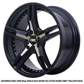 harga velg hsr wheel - keunika velg ring 15 ignis march sigra city dll