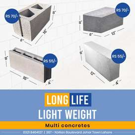 Multi Concretes - Strong & Effective Concrete Blocks.