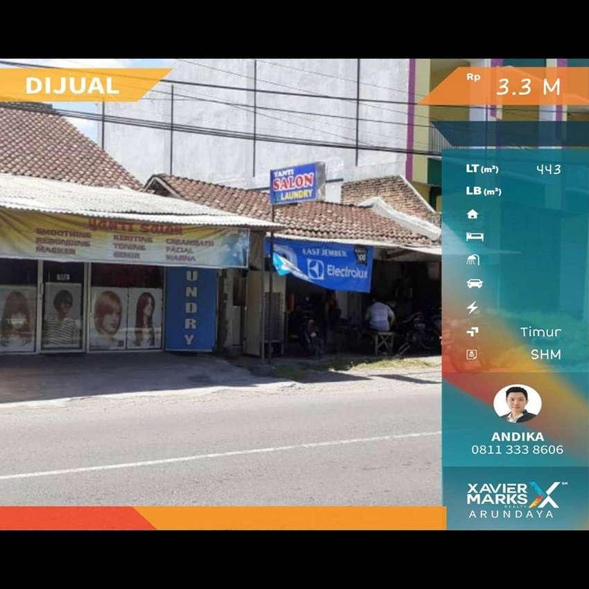 Toko Aktif di Pinggir Jalan Kota Jember 0