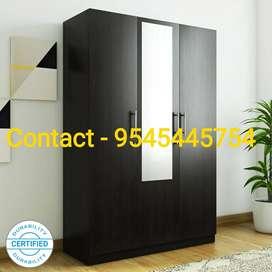 Brand New 3 Door Wardrobe / Almirah /Cupboard