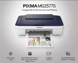 New Canon MG2577S color Printer cum SCANNER