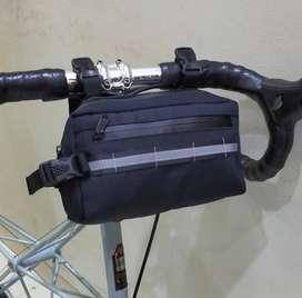 Brompton Saddle Pouch Sepeda Lipat Fnhon Dahon ID83