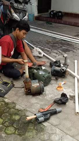 Jasa sumur bor/servis pompa air/suntik sumur