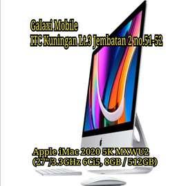 "iMac 2020 MXWU2 (27""/3.3GHz 6Ci5, 8GB/512GB) iBox Bisa Cash Kredit"