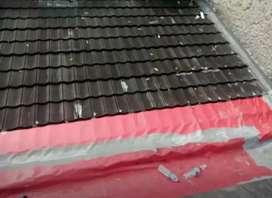 Malayani perbaikan atap bocor,bongkar pasang baja,plafon,kanopi,dll