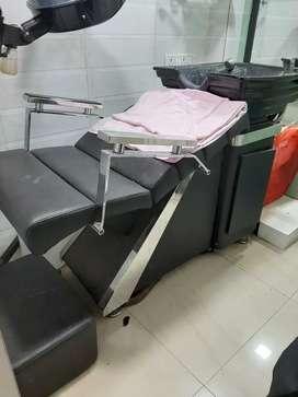 Shampoo station,salon chair