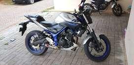 Yamaha MT 25 Silver 2015 LOW KM