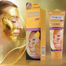 Wokali Whitening Gold Caviar Peel Off Mask