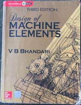 Machine Design Book BTech VB Bhandari