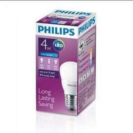 Lampu led philips 4 watt grosir
