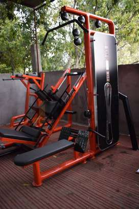 Get Full Health club commercial gym equipment setup.