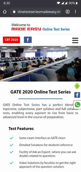 Made Easy test series of GATE AND ESE.  for ECE.